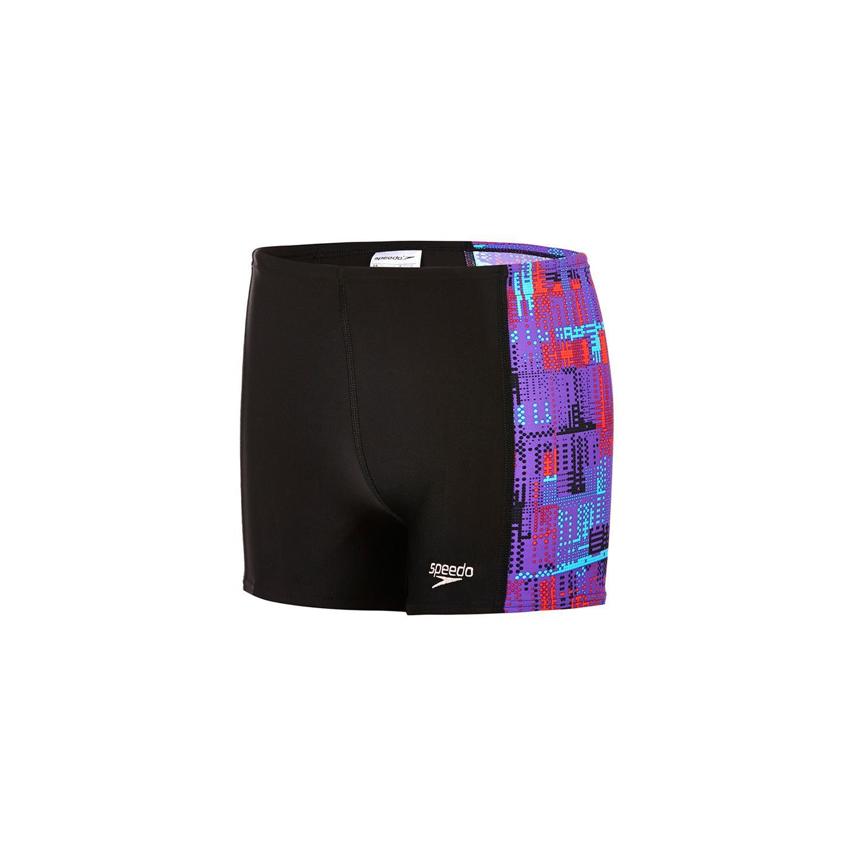 Ba�ador / speedo - allover panel aquashort 11 / 12 black