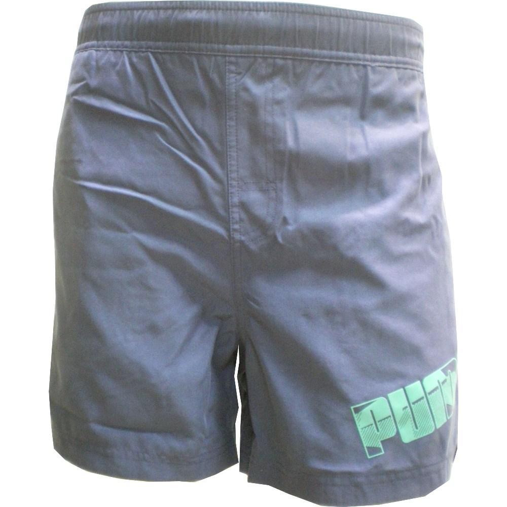 Ba�ador / puma:boys foundation beach shorts 164 blue